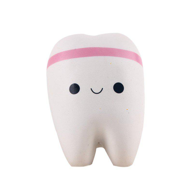 Cheap Jumbo Squishy Kawaii Cute Adorable Teeth Soft Slow Rising Toy