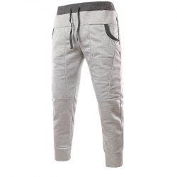 Fashionable Men's Unique Pocket Design Feet Casual Pants -