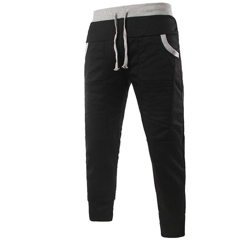 Shop Fashionable Men's Unique Pocket Design Feet Casual Pants