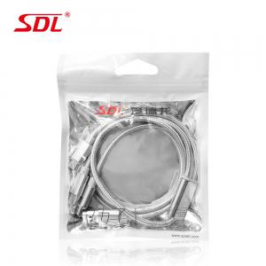 SDL 3 in 1 Micro USB + 8 Pin + Type-C Data Charging Cable - 1M -