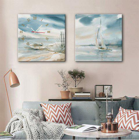 Fashion Special Design Frame Paintings Stay and Travel Print 2PCS
