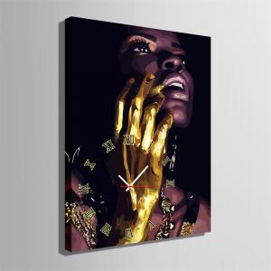 Special Design Frame Paintings Golden Hand Print -