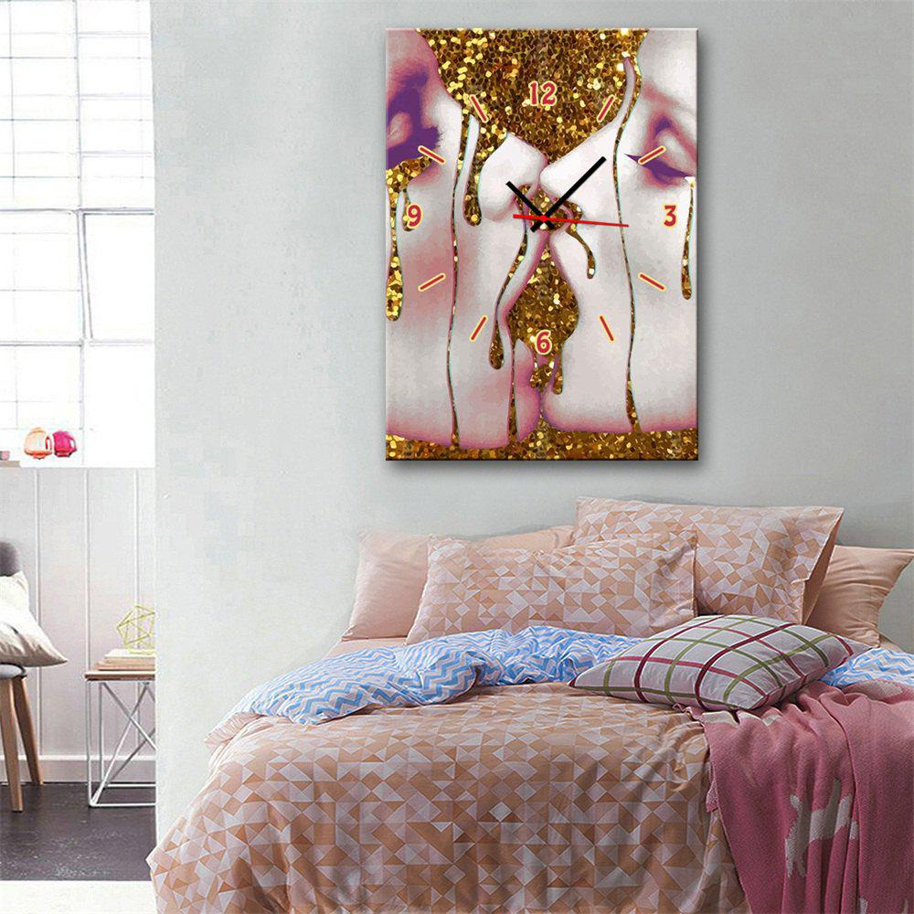 Fancy Special Design Frame Paintings Kissing Print