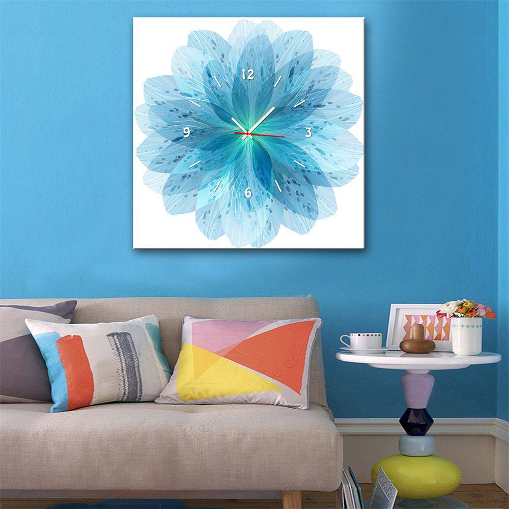 Outfits Special Design Frame Paintings Blue Petals Print