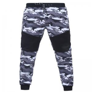 Camo Stitching Casual Sports Trousers -
