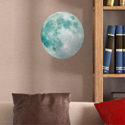 Creative Moon Children's Room  Noctilucent Wall Sticker -