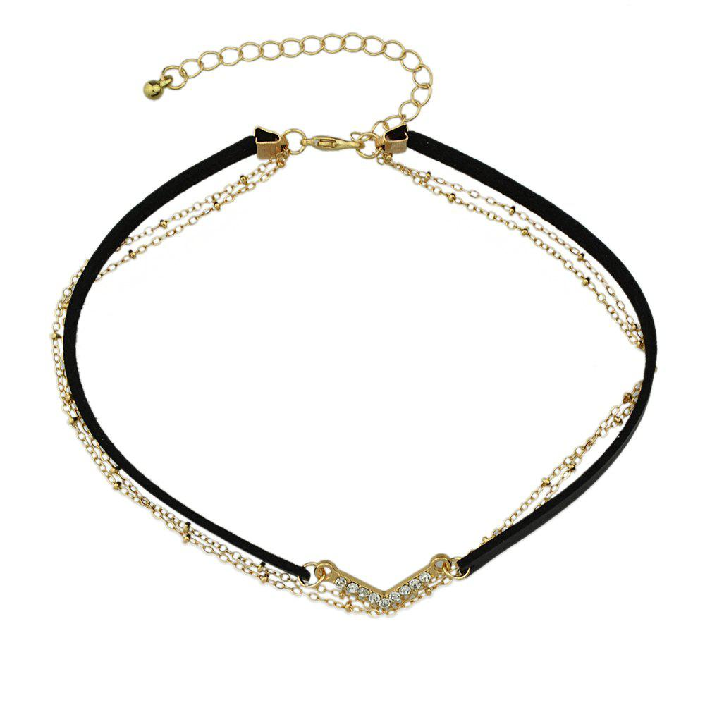 New Various Colors PU Leather Choker Necklace