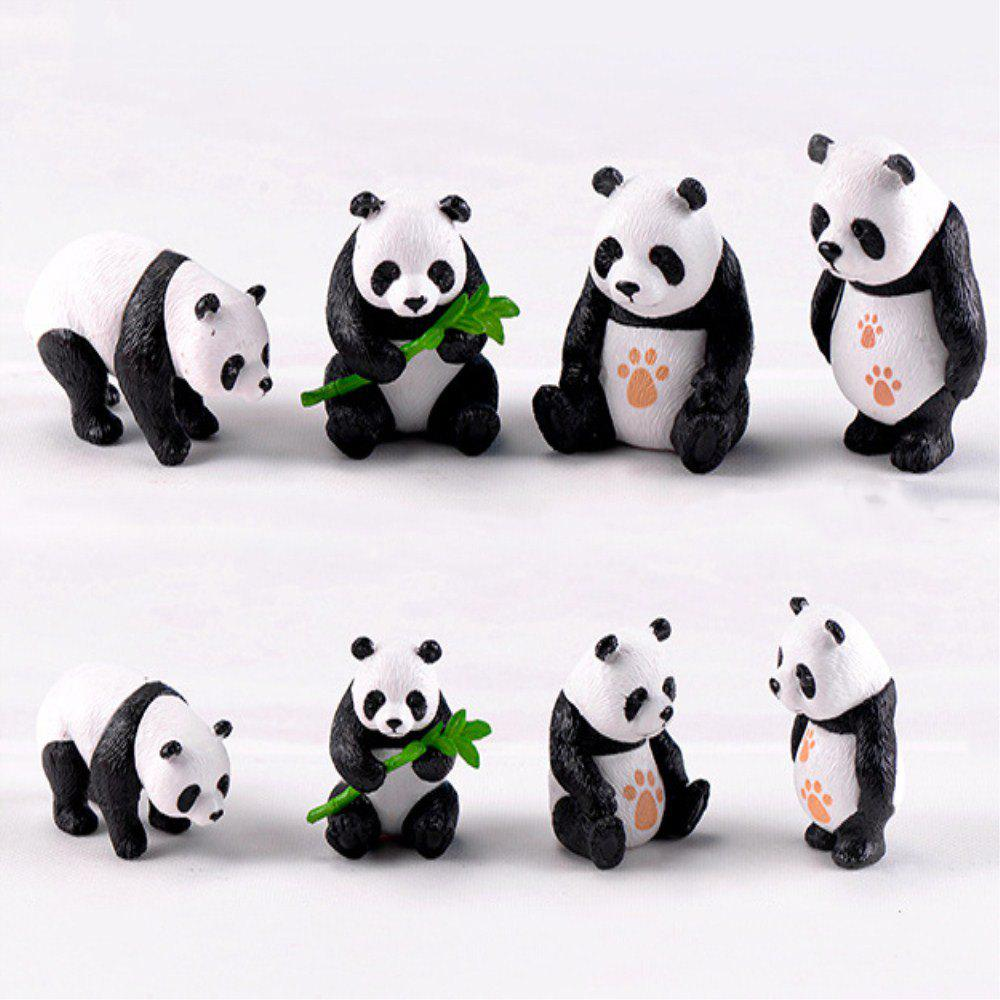 Shops Chinese Giant Panda Dolls Creative Home Furnishing 8PCS