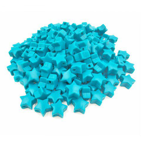 Baby Multicolor Little Star Shape Silicon Beads Stars 10PCS