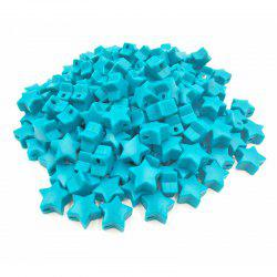 Baby Multicolor Little Star Shape Silicon Beads Stars 10PCS -
