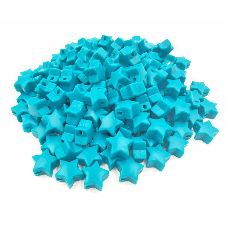 Fancy Baby Multicolor Little Star Shape Silicon Beads Stars 10PCS