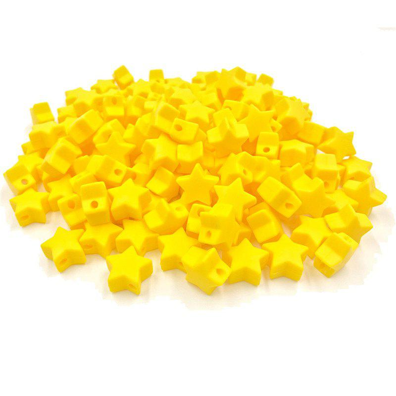 Shops Baby Multicolor Little Star Shape Silicon Beads Stars 10PCS