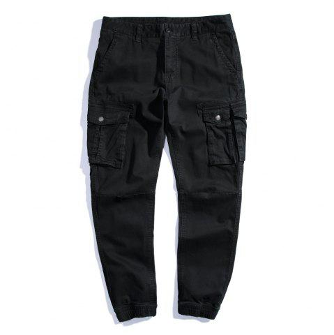 Trendy Summer Pure Cotton Trendy Casual Trousers