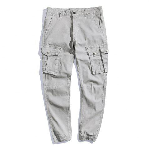 Affordable Summer Pure Cotton Trendy Casual Trousers