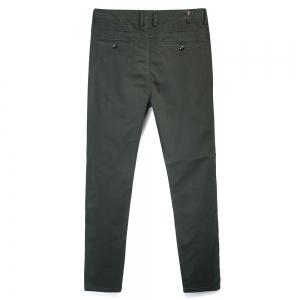 Man's Pure Color Straight Tube Casual Pants -
