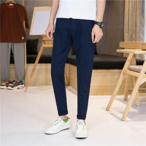Summer Men's Fashion Pure and Pure Lounge Pants -
