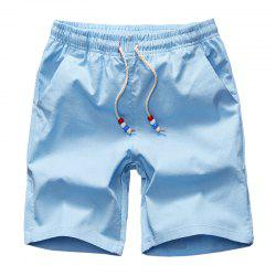 Summer Men's Casual and Pure Color Casual Beach Shorts -