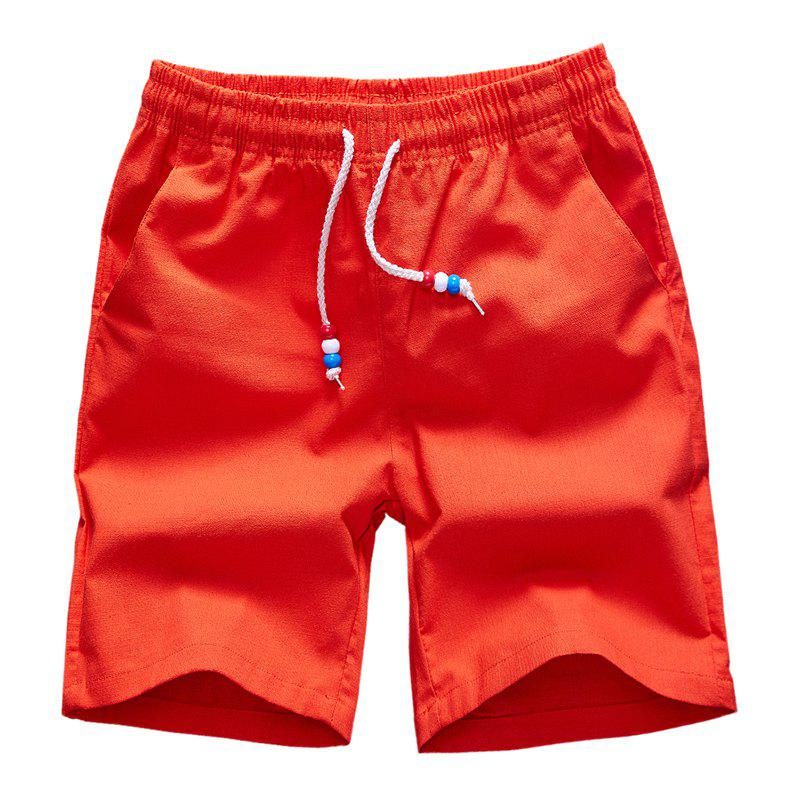 Outfit Summer Men's Casual and Pure Color Casual Beach Shorts