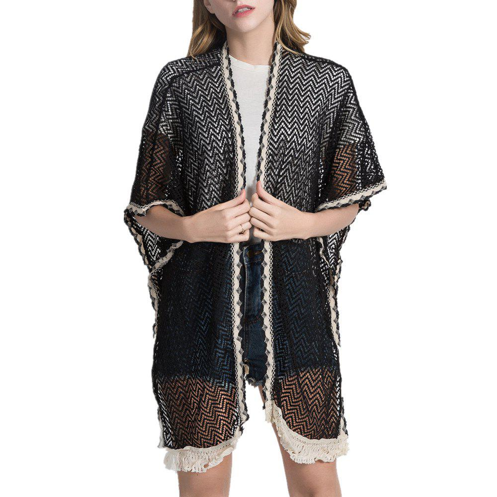 Женщин Sheer Summer Rash Guard Beach Holiday Cardigan Shawl