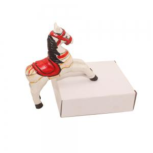 Horse Crafts Handpainted Painted Home Decoration -