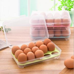 15 Lattice Egg Carton Portable Kitchen Crisper -