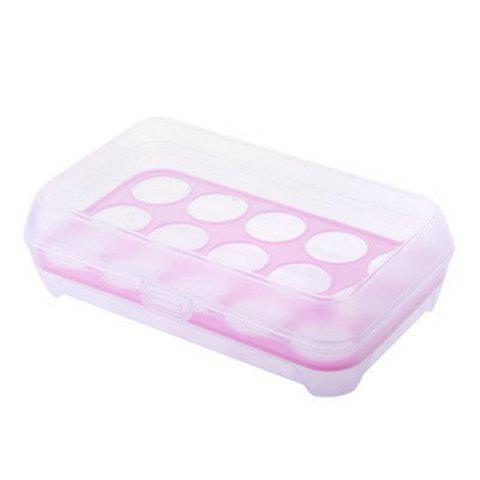 Chic 15 Lattice Egg Carton Portable Kitchen Crisper