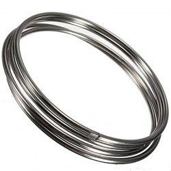Chinese Linking Rings Magic Stage Trick 10cm Set of 4 Stainless Steel for Kids -