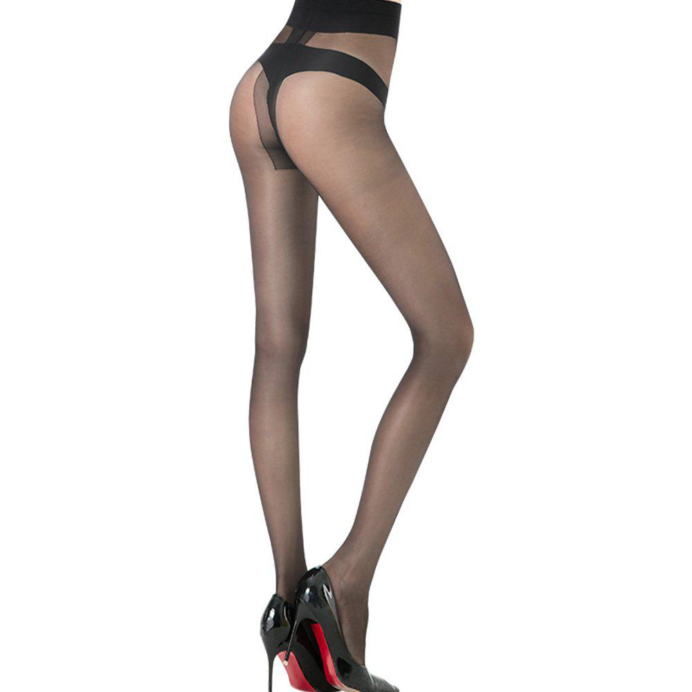 LANGSHA T Crotch Chaussettes Collants