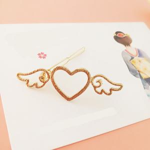 The New Fashion Japanese Metal Wind Wings Hairpin -