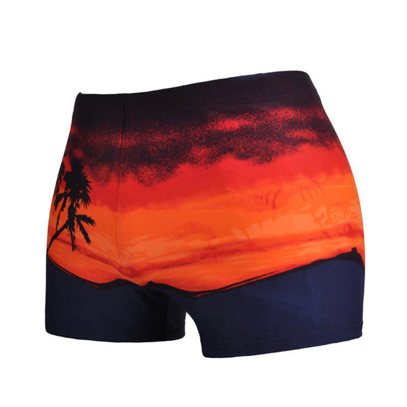 Trendy Men Breathe Freely Swimming Trunks