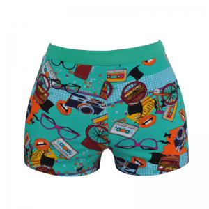 Men's Cartoon Boxer Swimming Trunks -