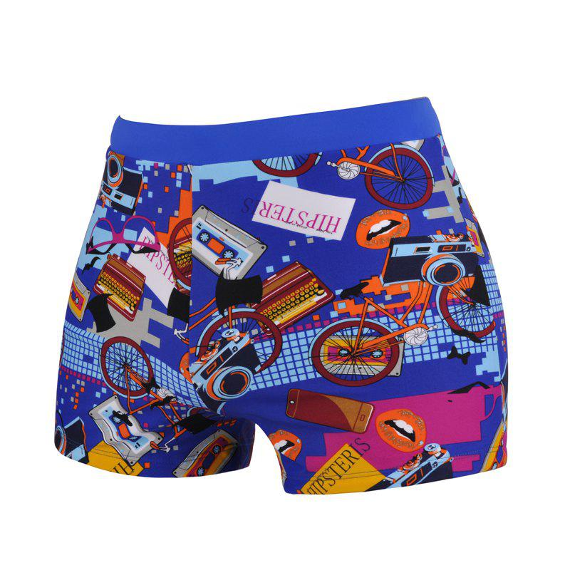 Latest Men's Cartoon Boxer Swimming Trunks