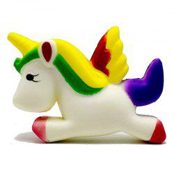 Радуга Flying Horse Декомпрессия Jumbo Squishy Toy -