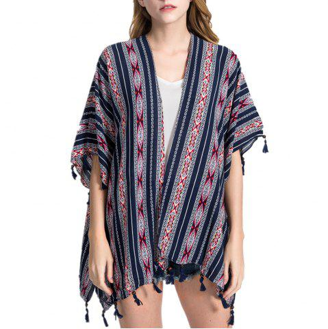 Chic Women's Fashion Hollow-Out Tassel Shawls