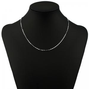 Fashion Fresh and Simple Personality Metal Chain Necklace -
