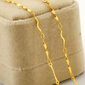 Chain Personality Wild Pattern Simple Copper Necklace -