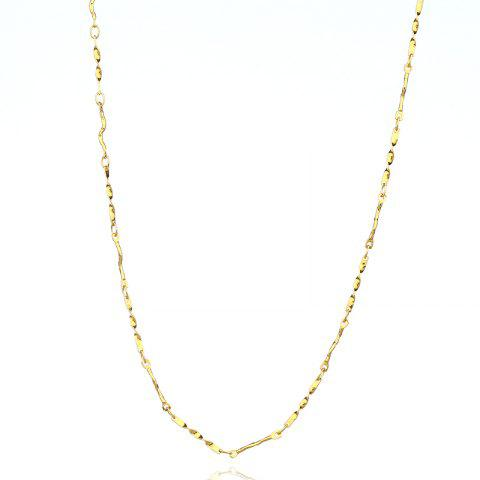 Online Chain Personality Wild Pattern Simple Copper Necklace