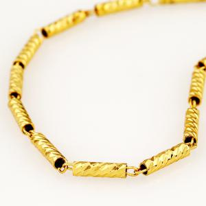 Wild Metal Pattern Short Chain European and American Fashion Necklace -