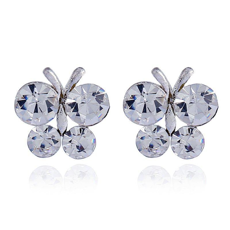 Best Vintage Sen Diamond Butterfly Wing Earrings