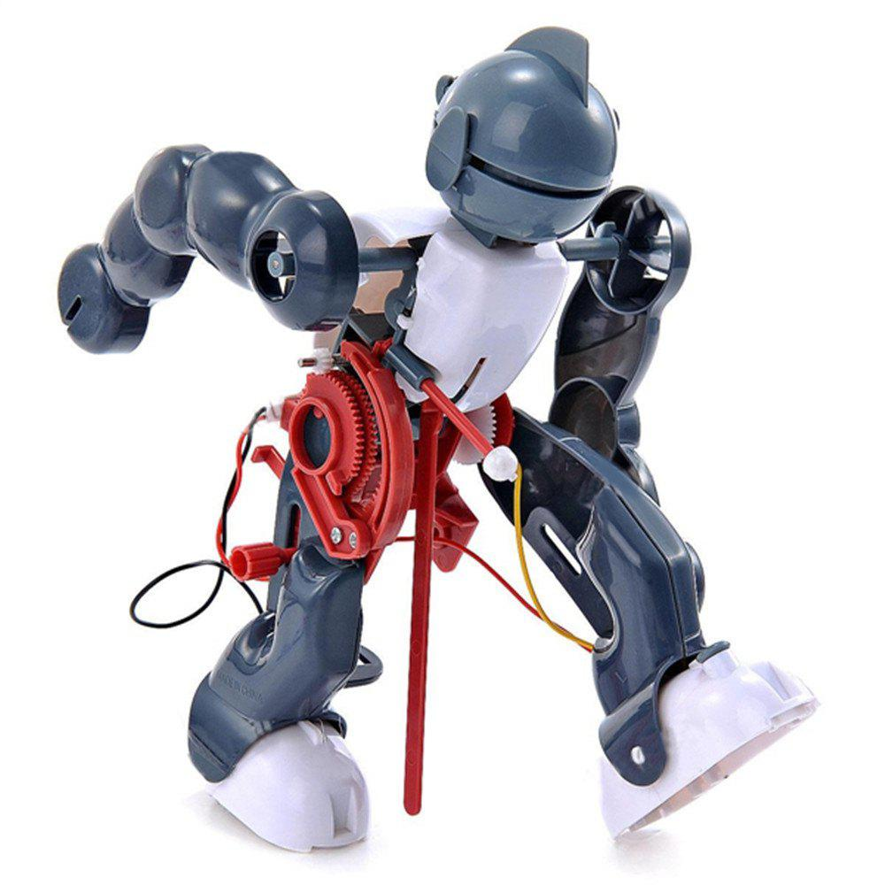 New Creative DIY Electric Tumbling Robot Children Puzzle Toy