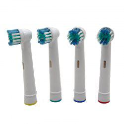 4PCS Electric Replacement  Tooth Brush Heads -