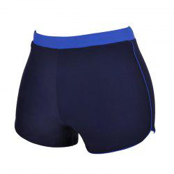 Man Waterproof Quick-Drying Boxer Swimming Trunks -
