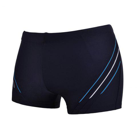 Unique Man Comfortable Chloride Boxer Swimming Trunks