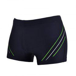 Man Comfortable Chloride Boxer Swimming Trunks -
