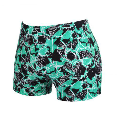 Chic Men's Fashion Soft Boxer Swimming Trunks