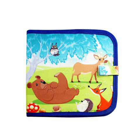 Sale Children Portable Early Enlightenment Learning Graffiti Colored Drawing Board