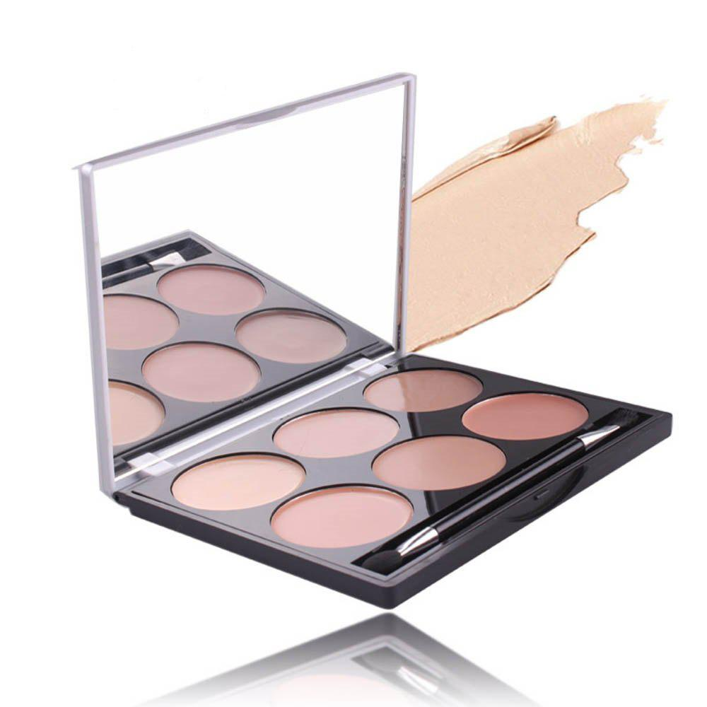 Buy MISS ROSE 6 Colors Black Eye Acne Scar Concealer