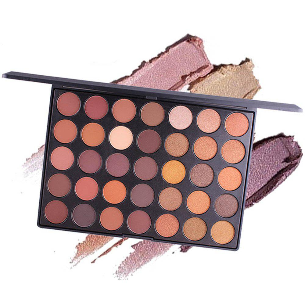 Hot MISS ROSE 35-Color Matte Pearlescent Eyeshadow