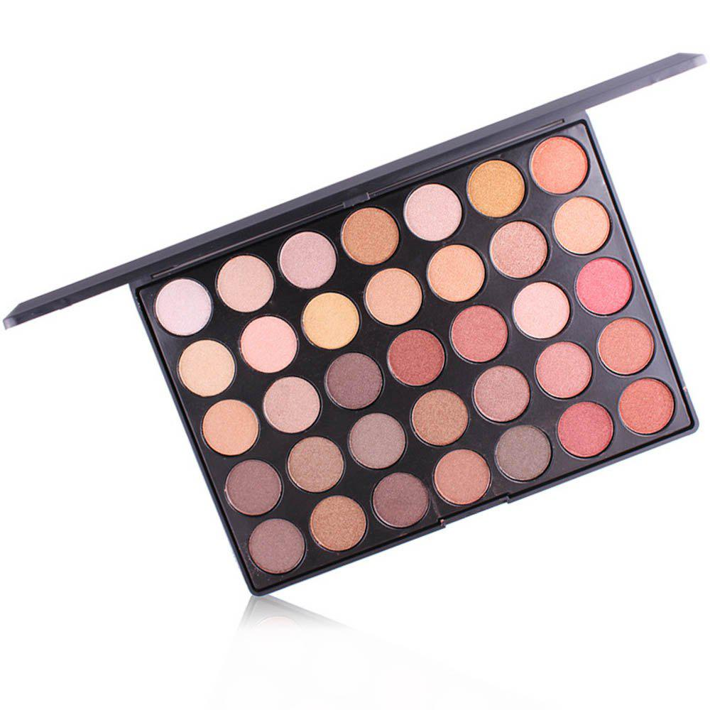 Discount MISS ROSE 35-Color Matte Pearlescent Eyeshadow
