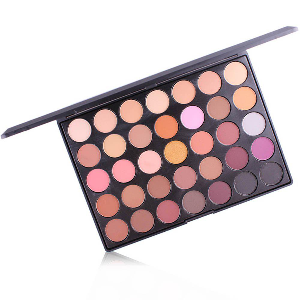 Shops MISS ROSE 35-Color Matte Pearlescent Eyeshadow